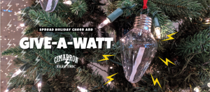 spread holiday cheer and give a watt